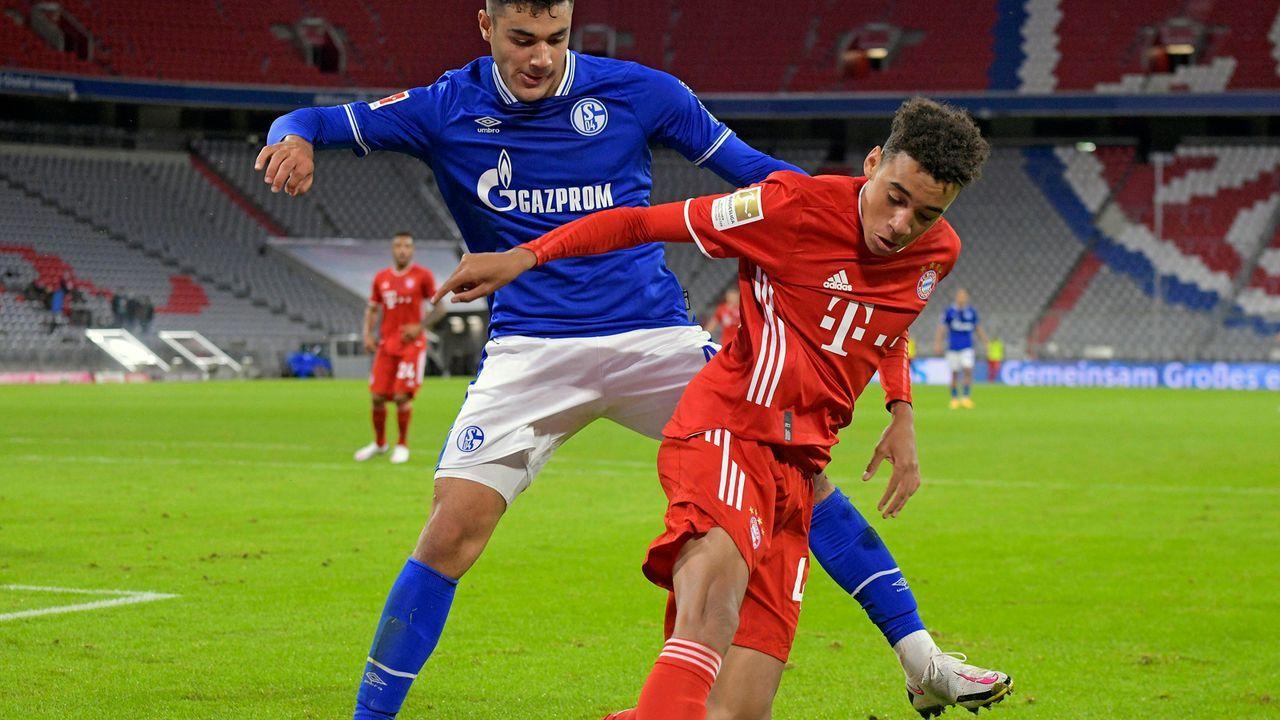 Bayerns jüngster Bundesliga-Torschütze: Das ist Jamal Musiala - Bildquelle: imago images/MIS