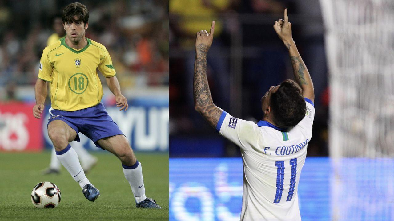 Philippe Coutinho und Juninho - Bildquelle: Getty