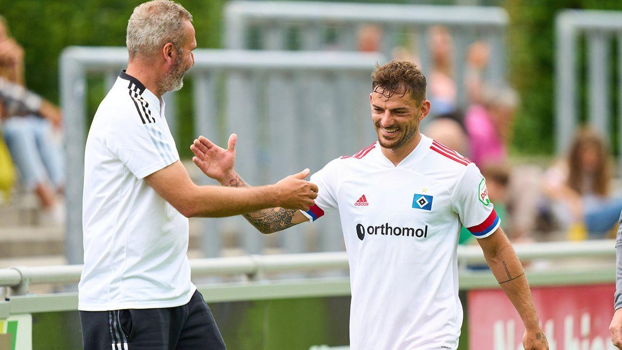LV: Tim Leibold (Hamburger SV) - Bildquelle: Imago Images