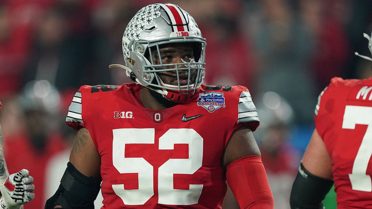 31. Pick - Kansas City Chiefs: Wyatt Davis (OG, Ohio State) - Bildquelle: imago