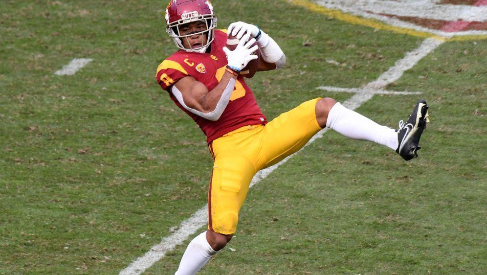 Amon-Ra St. Brown glänzt beim Saisonauftakt bei den USC Trojans. - Bildquelle: imago images/ZUMA Wire