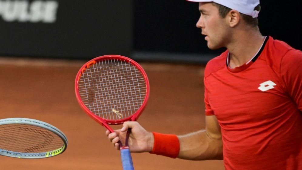 Tennisprofi Dominik Koepfer - Bildquelle: POOLAFPSIDRICCARDO ANTIMIANI