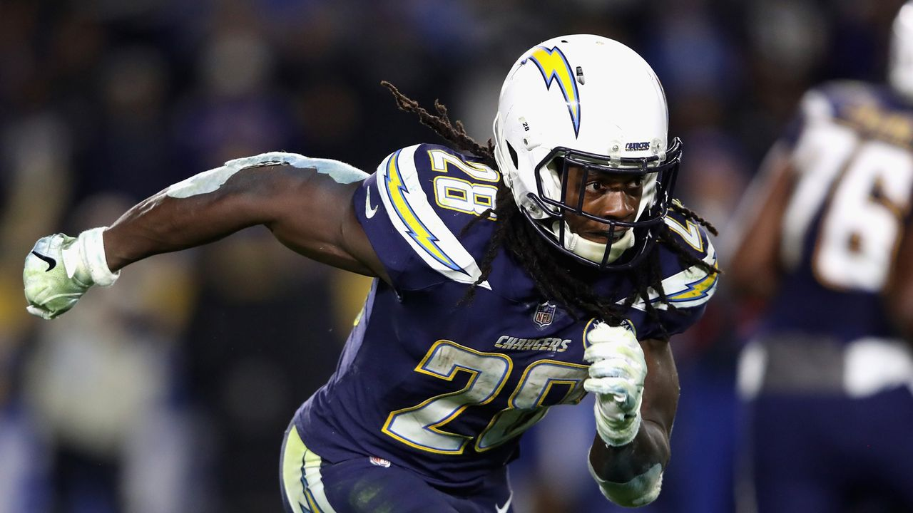 Platz 34: Melvin Gordon - Bildquelle: 2018 Getty Images