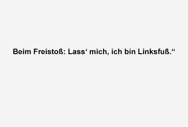 Der Linksfuß - Bildquelle: ran.de