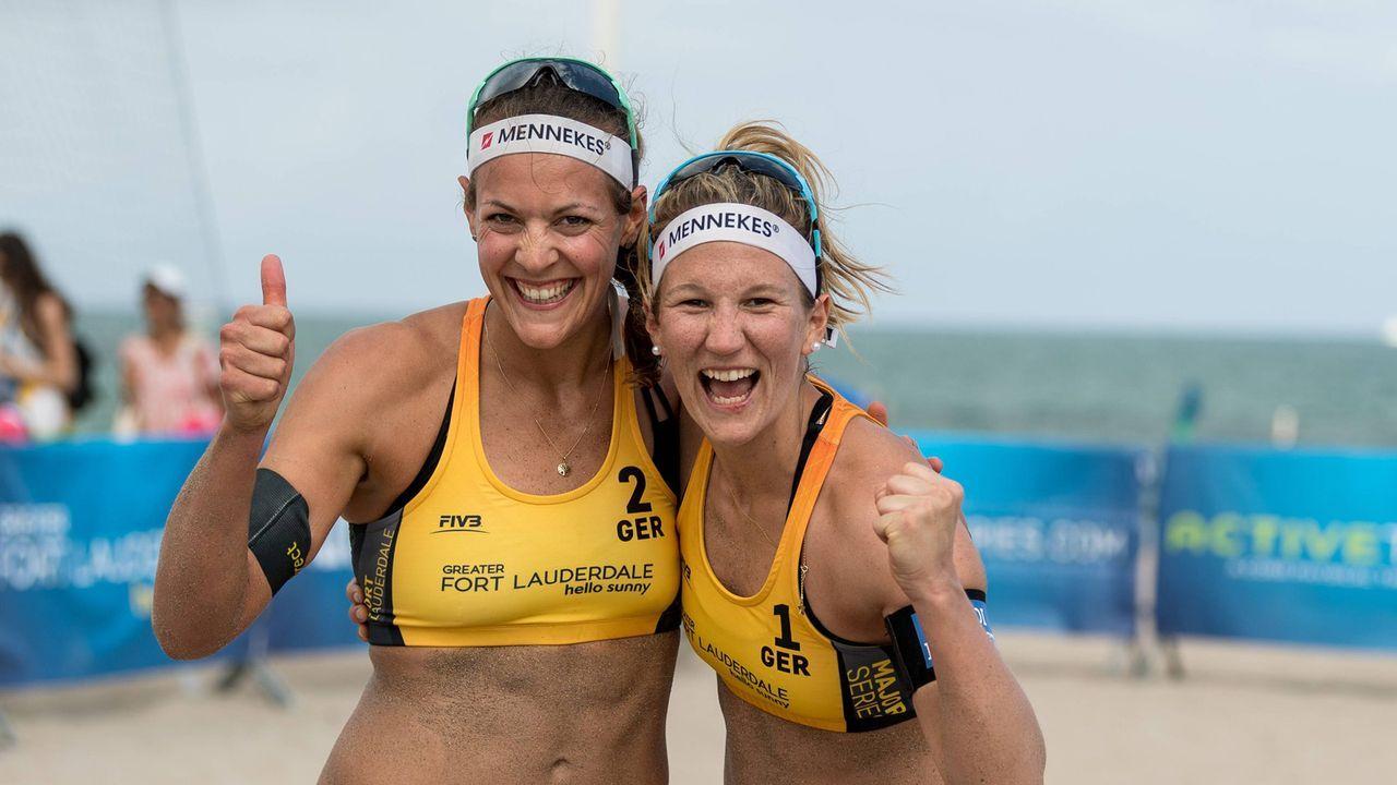 Victoria Bieneck und Isabel Schneider - Bildquelle: imago/Beautiful Sports