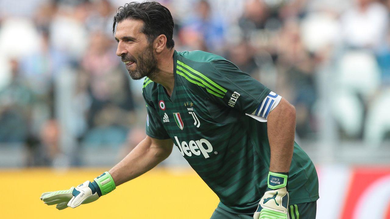 Platz 3 - Gianluigi Buffon (Juventus Turin) - Bildquelle: Getty Images