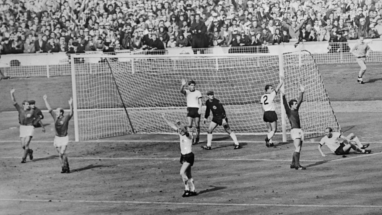 WM 1966: England - Deutschland 4:2 (2:2, 1:1) n.V. - Bildquelle: imago/United Archives International
