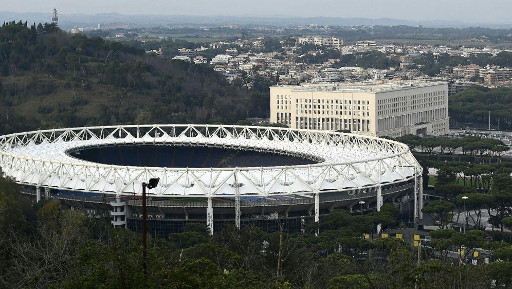 In Rom sind Spiele mit 25 Prozent Auslastung vorgesehen - Bildquelle: AFPSIDFILIPPO MONTEFORTE