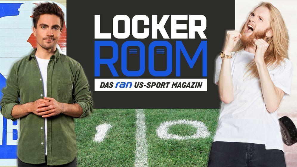 Locker Room mit Max und Icke ab dem 1. Mai LIVE auf ProSieben MAXX. - Bildquelle: ran