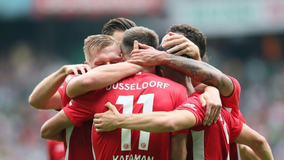 Düsseldorf gewann in Bremen mit 3:1 - Bildquelle: FIROFIROSID