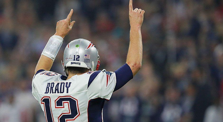 4. neuer Rekord: Meiste Completions in einem Super Bowl - Bildquelle: 2017 Getty Images