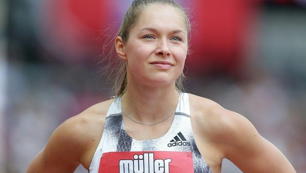"""Gina Lückenkemper würde eine """"Sportlerrente"""" begrüßen - Bildquelle: PIXATHLONPIXATHLONSID"""
