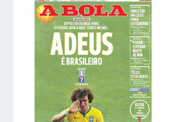 A Bola (Portugal) - Bildquelle: A Bola (Portugal)