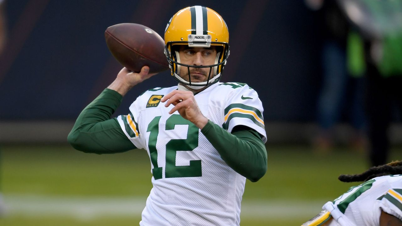 8. Platz: Aaron Rodgers (Quarterback, Green Bay Packers) - Bildquelle: Getty Images