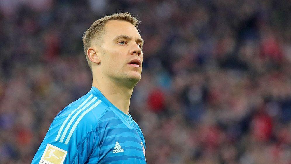 Bayern-Keeper Manuel Neuer stellt sich den Fragen der Journalisten auf einer... - Bildquelle: 2019 Getty Images