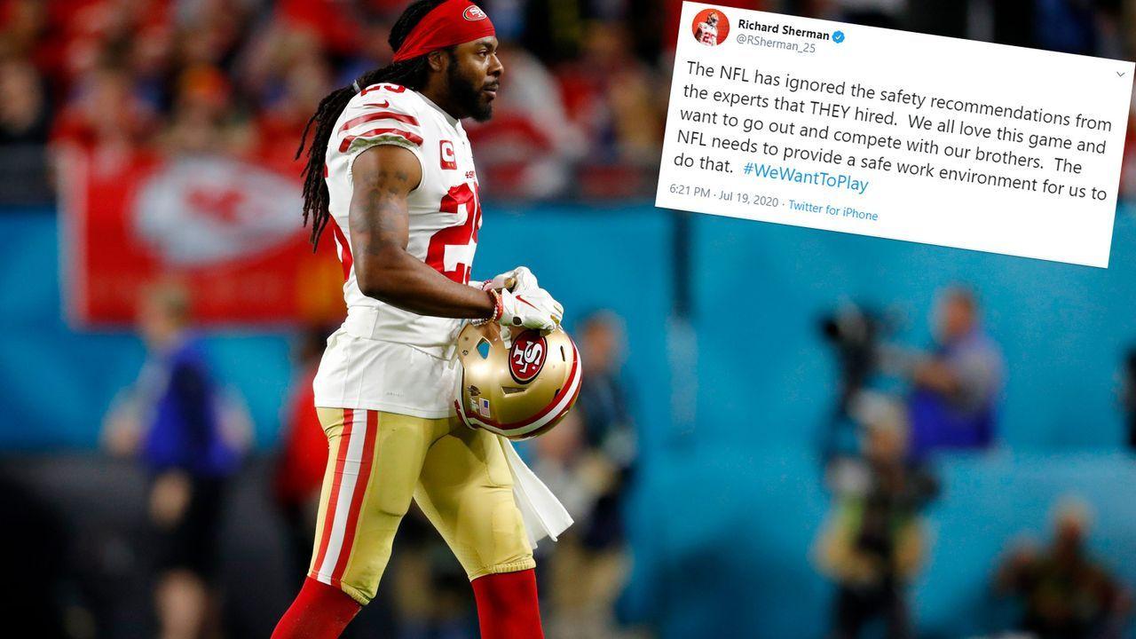Richard Sherman (San Francisco 49ers) - Bildquelle: 2020 Getty Images