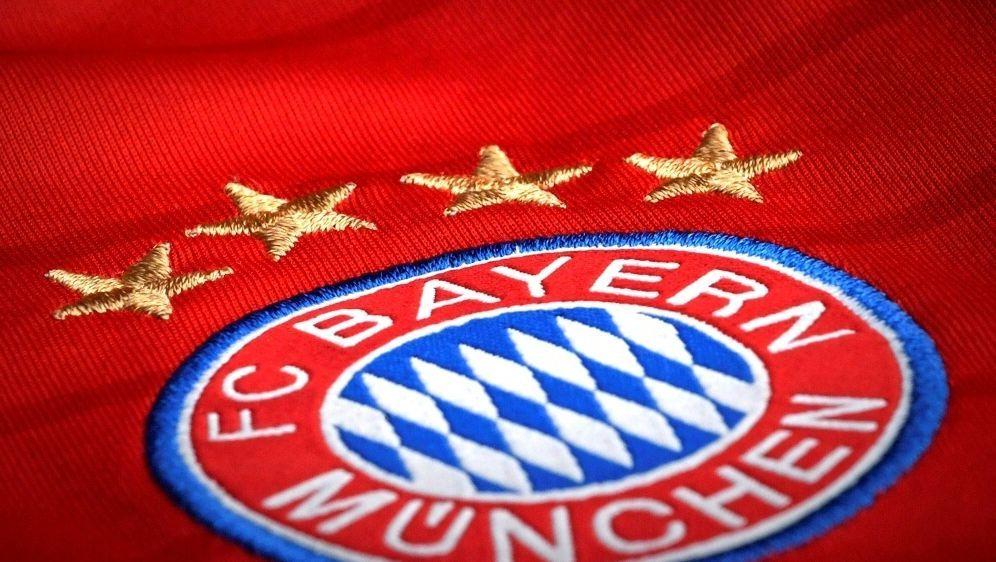 Die Bayern laufen gegen Frankfurt im neuen Trikot auf - Bildquelle: PIXATHLONPIXATHLONSID