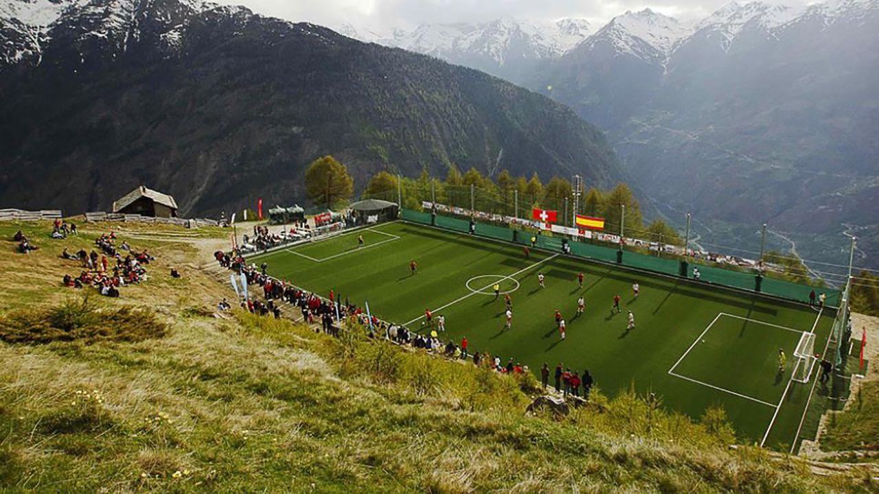 Ottmar Hitzfeld Stadion (Schweiz) - Bildquelle: Twitter/FootballSwiss - Craig King
