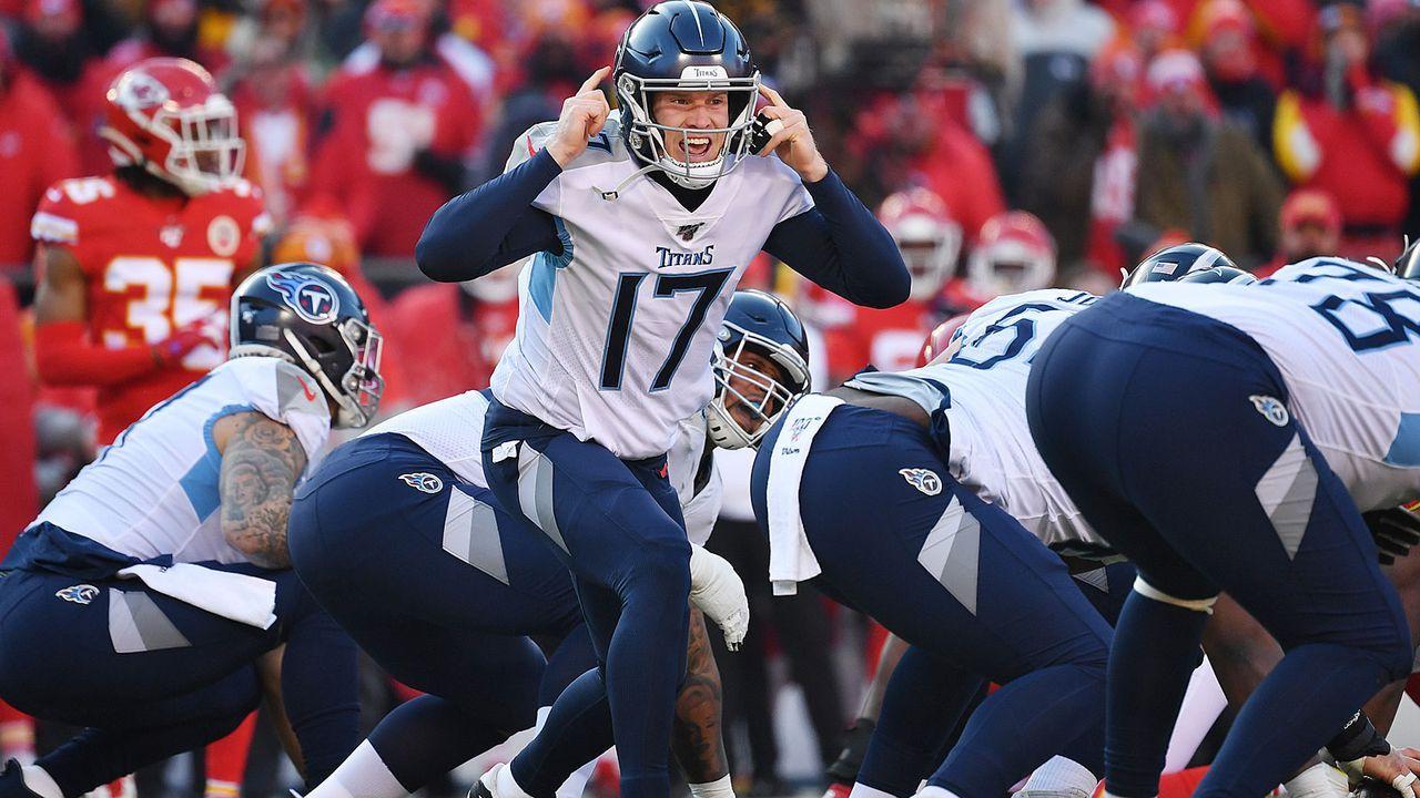 Verlierer: Offense der Tennessee Titans - Bildquelle: 2020 Getty Images