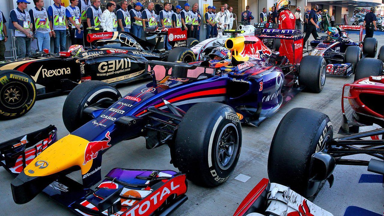 Red Bull RB10 (2014) - Bildquelle: 2014 Getty Images