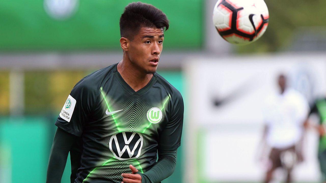 Ulysses Llanez (VfL Wolfsburg) - Bildquelle: imago images / regios24