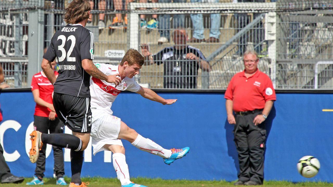 Stürmer: Timo Werner   - Bildquelle: imago/Sportfoto Rudel