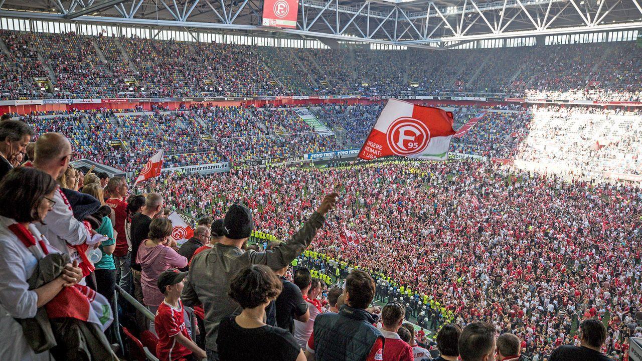 Platz 6: Fortuna Düsseldorf - Merkur Spielarena - Bildquelle: Getty