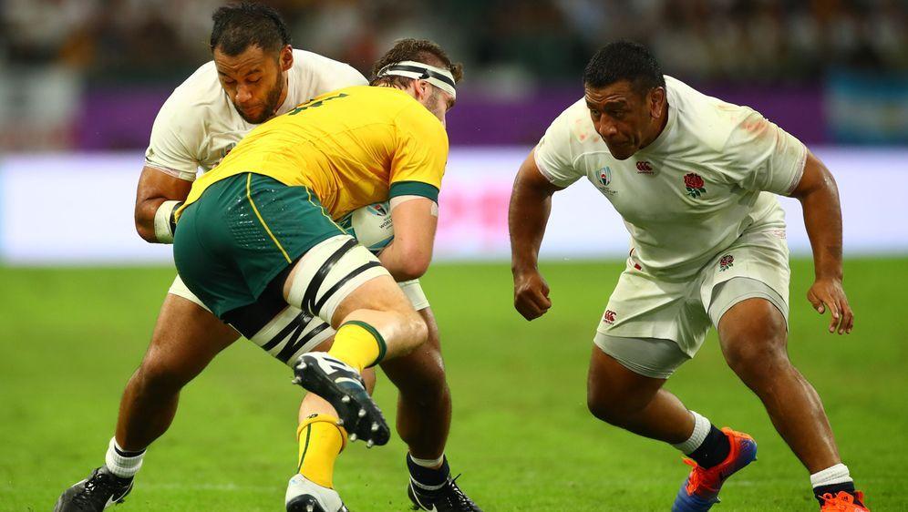 An den Rugby-Brüdern ist kein Vorbeikommen: Billy und Mako Vunipola - Bildquelle: imago images/Inpho Photography