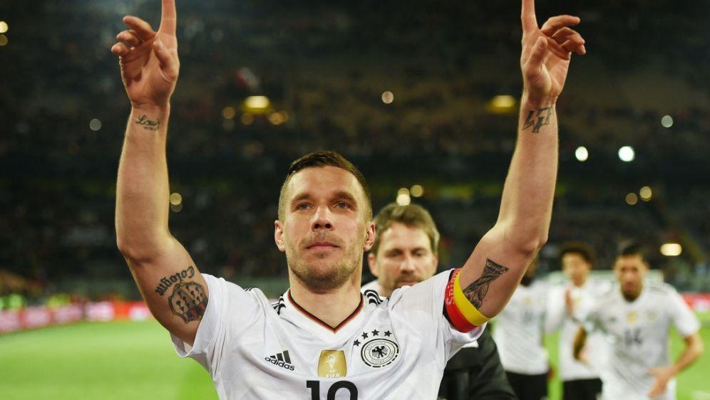 """Lukas Podolski: """"Habe noch Hunger auf Fußball"""" - Bildquelle: AFPSIDPATRIK STOLLARZ"""
