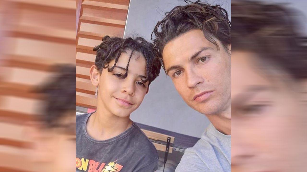 Cristiano Ronaldo im Boyband-Look - Bildquelle: cristiano/instagram