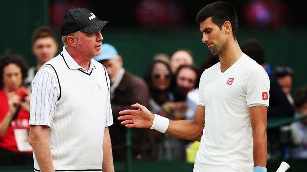 Becker als Coach - Bildquelle: 2014 Getty Images