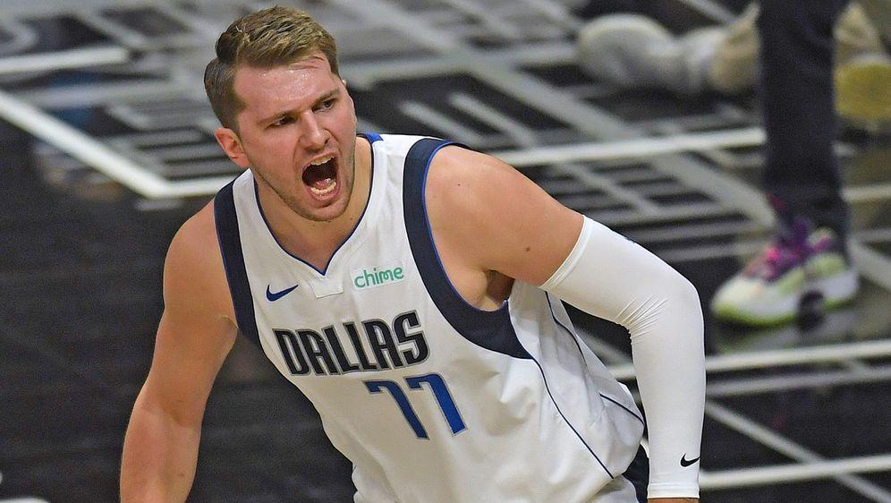 Luka Doncic von den Dallas Mavericks - Bildquelle: getty