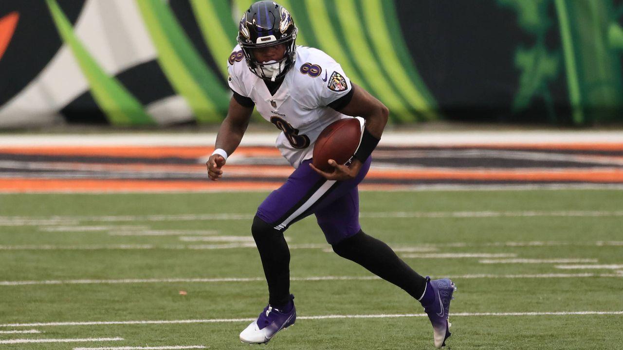 Platz 2: Lamar Jackson (Quarterback, Baltimore Ravens) - Bildquelle: imago images/Icon SMI