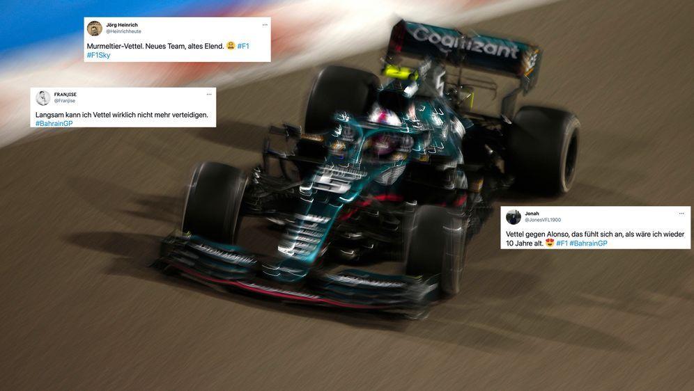 Sebastian Vettel. - Bildquelle: imago images/Motorsport Images