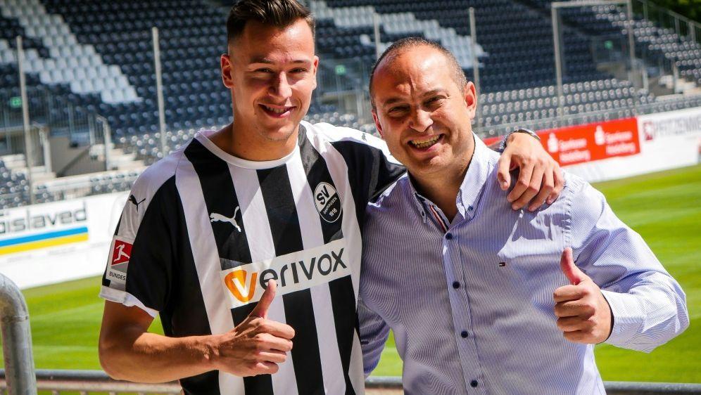 Mario Engels (l.) kommt von Roda Kerkrade - Bildquelle: SV SandhausenSV SandhausenSID