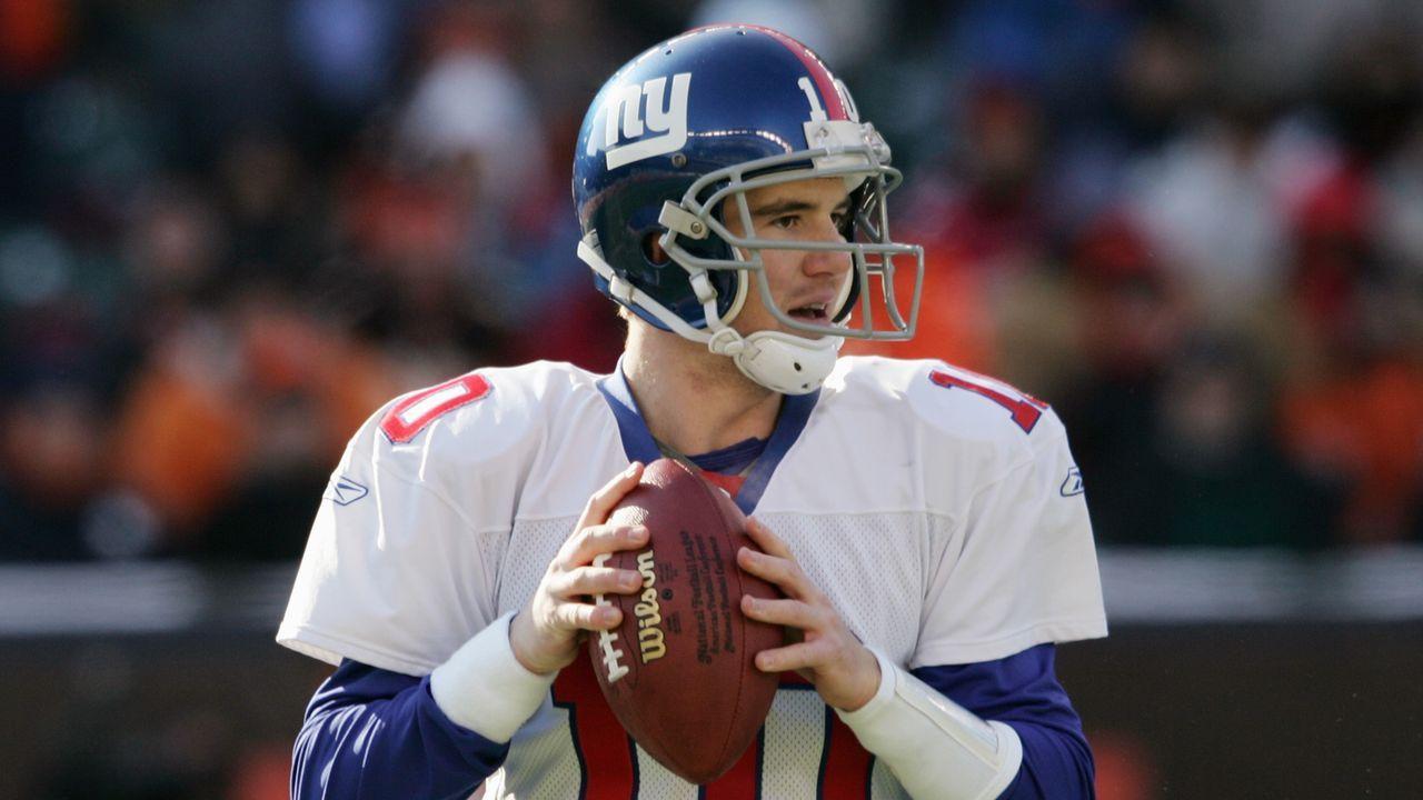 Eli Manning (New York Giants, 2004) - Bildquelle: 2004 Getty Images