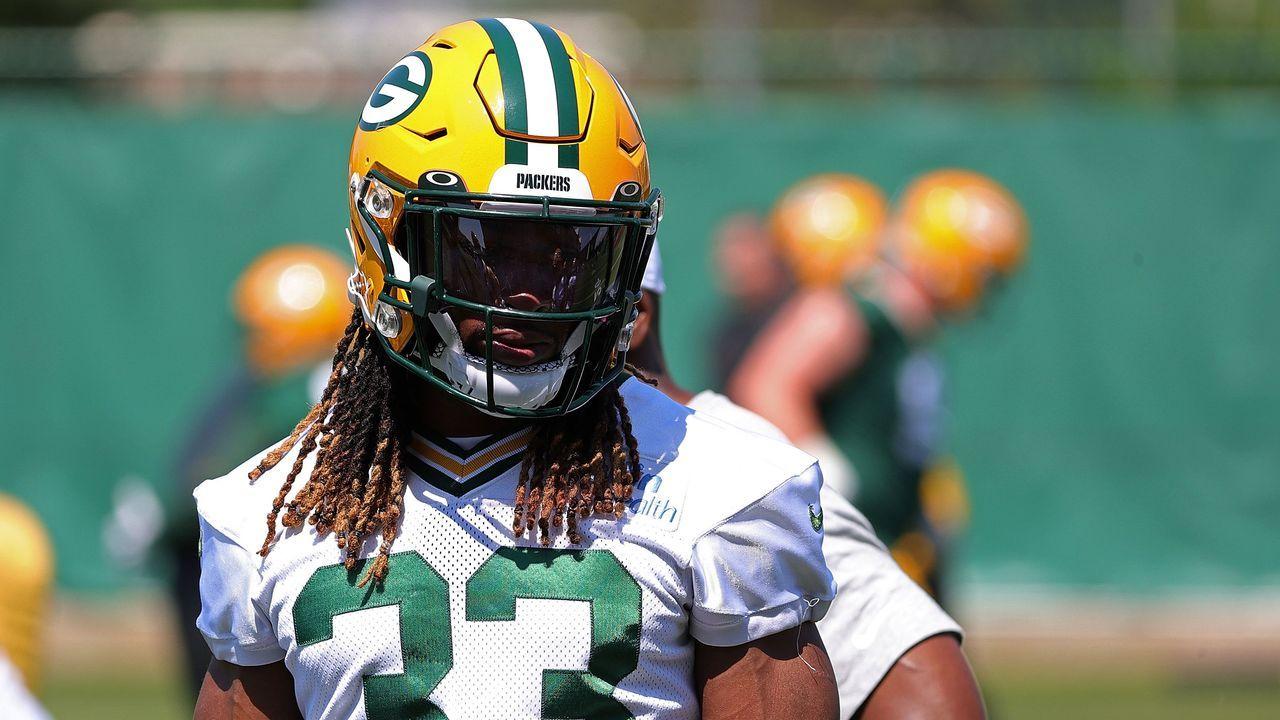 Platz 6: Aaron Jones (Green Bay Packers) - Bildquelle: 2021 Getty Images