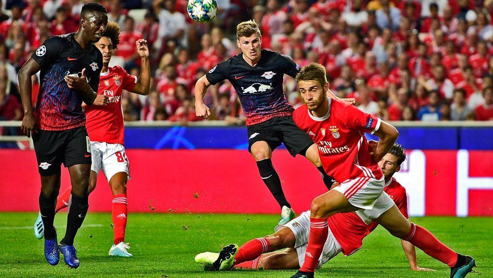 Werner trifft doppelt gegen Benfica Lissabon. - Bildquelle: Getty