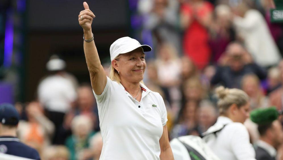 Martina Navratilova stellt Tour-Rückkehr infrage - Bildquelle: PIXATHLONPIXATHLONSID