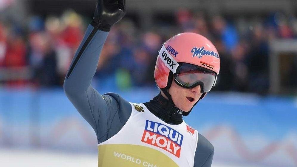 Karl Geiger strebt dritten Weltcupsieg an - Bildquelle: AFPSIDJOE KLAMAR