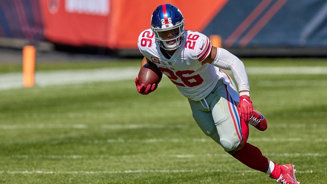 Saquon Barkley (New York Giants) - Bildquelle: imago images/Icon SMI