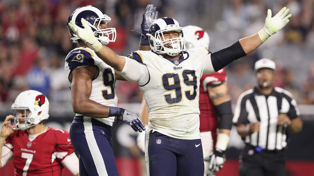 Aaron Donald (Los Angeles Rams) - Bildquelle: 2017 Getty Images