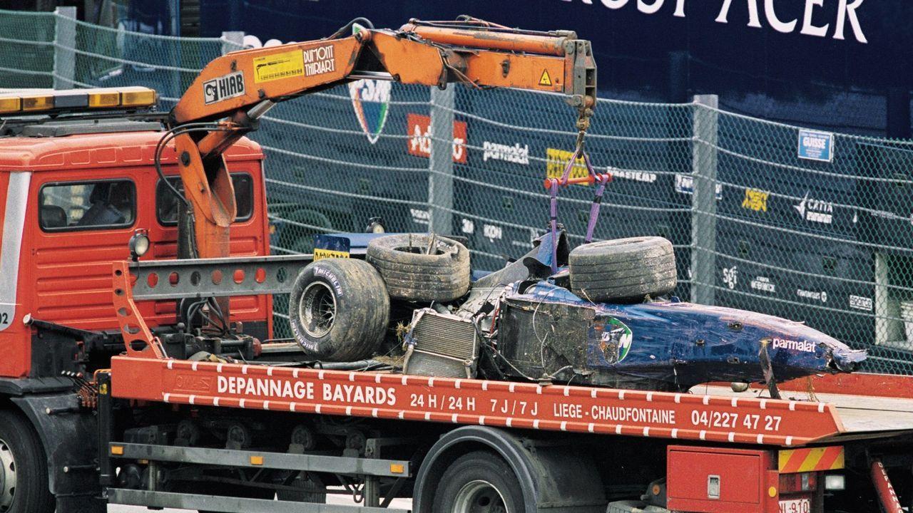 Belgien-GP 2001 - Bildquelle: Getty