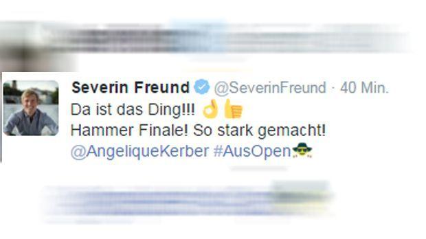 Severin Freund Tweet - Bildquelle: twitter / @SeverinFreund