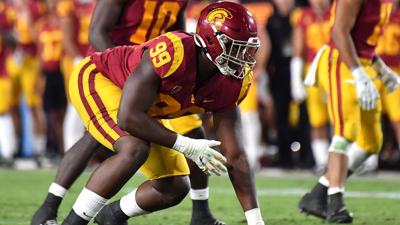 Drake Jackson (Edge Rusher/Linebacker, USC Trojans) - Bildquelle: imago images/ZUMA Press