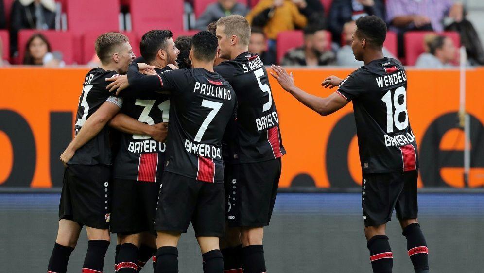 Bayer Leverkusen gewinnt in Augsburg souverän - Bildquelle: FIROFIROSID