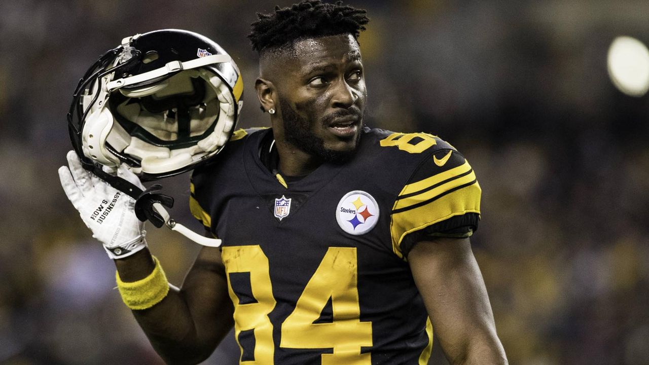 Platz 7: Antonio Brown - Bildquelle: imago images / Icon SMI