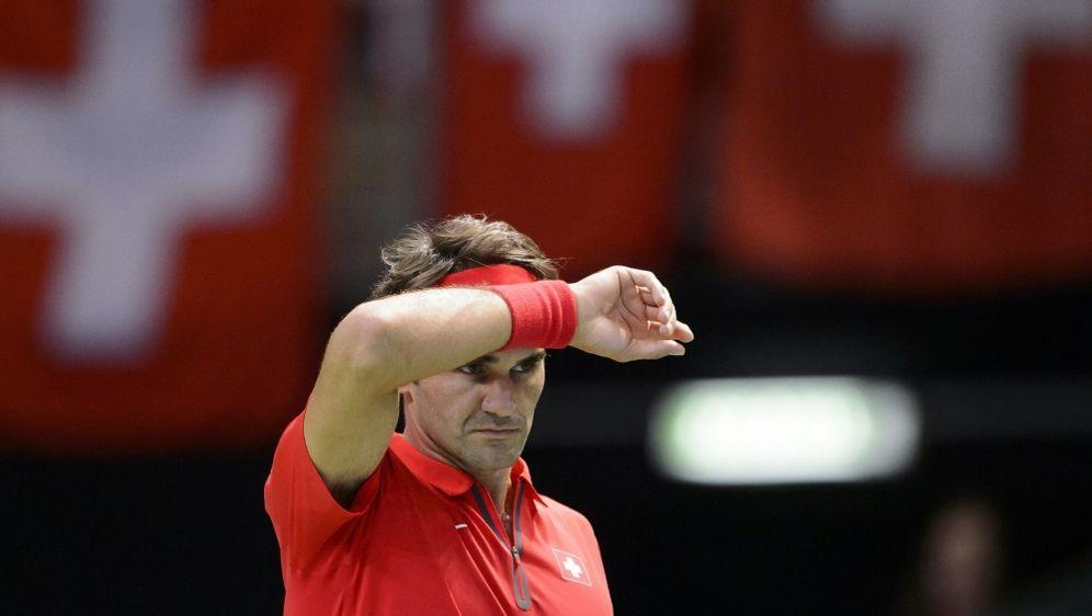 Roger Federer wird Markenbotschafter für die Schweiz - Bildquelle: AFPSIDFABRICE COFFRINI