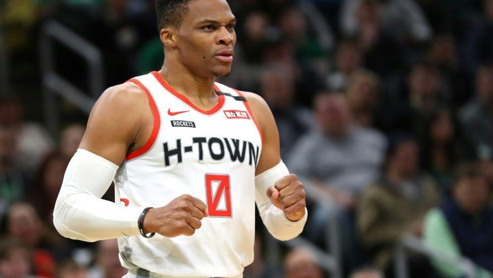 Westbrook will mit Houston am Finalturnier teilnehmen - Bildquelle: AFPGETTYSIDMADDIE MEYER