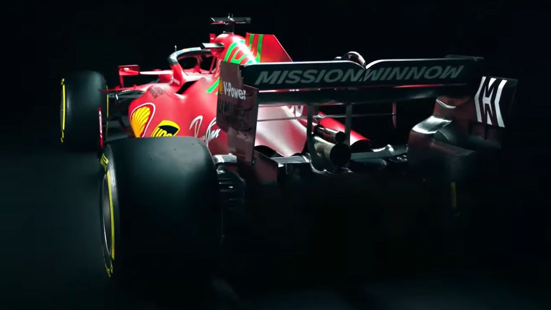 SF21: Das ist am Chassis neu - Bildquelle: Ferrari